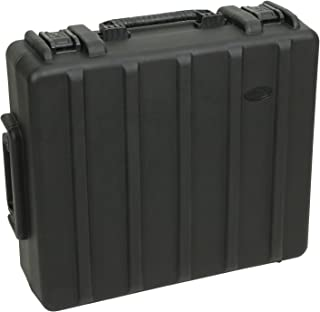 SKB 1R2723-8BW Roto-Molded Case 27 x 23 x 8 Inches with Wheels, Pull Handle for PreSonus 24, A&H Zed-24