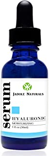 Jadole Naturals Hyaluronic Acid Serum For Anti Wrinkle And Dark Circle Remover All Natural And Moisturizing 30 ml, Pack of 1