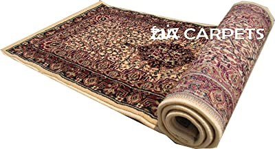 Faiz Carpets Persian Design Silk Touch Floor Bed Side Carpet & Gallery Carpet with 1 inch Thickness 2 X 6 Feet (60x180 cm) Multi