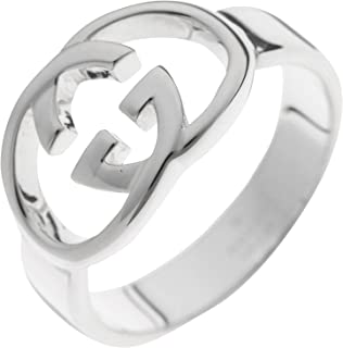 [古驰] GUCCI 银色 碧玺戒指