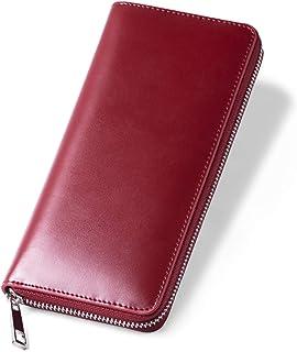 MURA 長財布 財布 メンズ ファスナー 本革 カード入れ 小銭入れ ラウンドファスナー