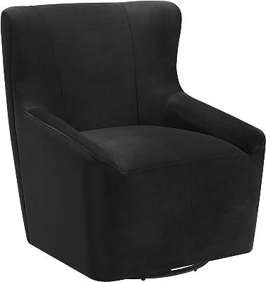 Abbey Avenue A-ENZ-1819E Enzo Swivel Chair in Gun Metal
