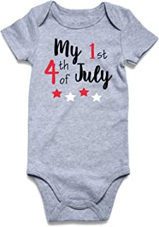 first 4th of july onesie
