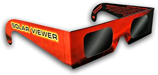 Solar Eclipse Glasses CE & ISO Certified