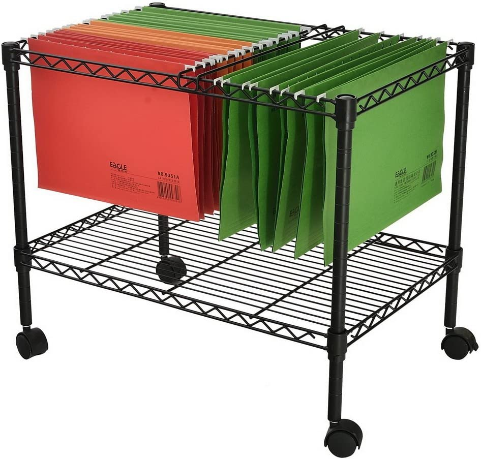 Genuine Knocbel Metal Rolling File Cart with Lockable Cabinet Special price for a limited time Mobile Whe