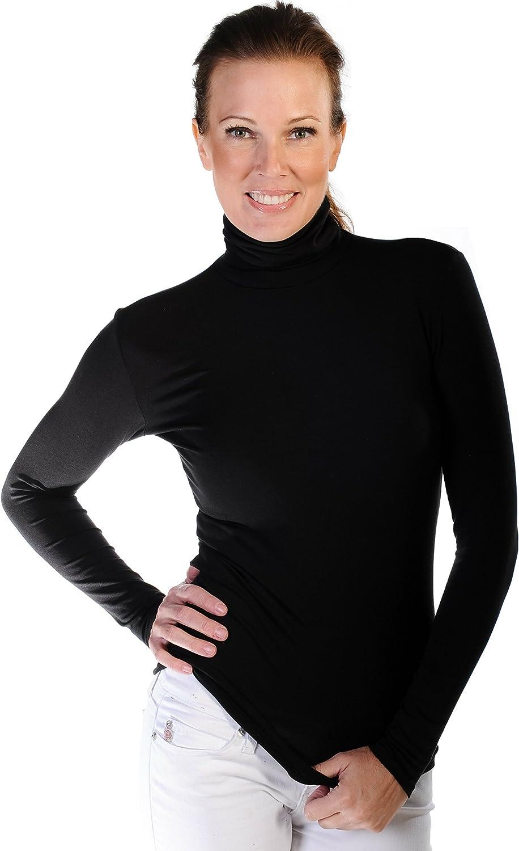 Body Bark Women's Turtleneck Long Sleeve