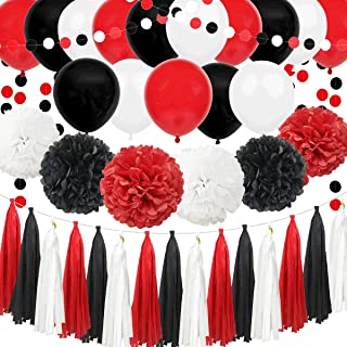 Amazon Com Red And White Decorations