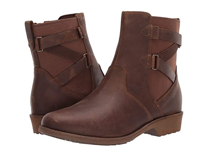 Teva Ellery Ankle WP (Pecan) Womens Shoes