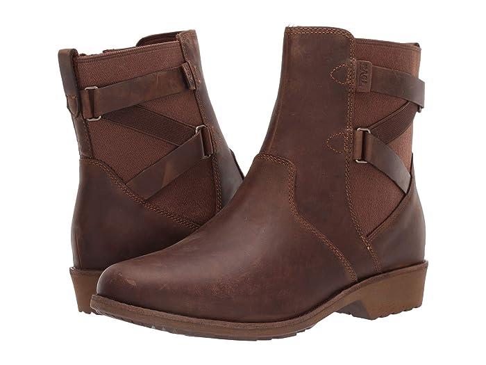 Teva  Ellery Ankle WP (Pecan) Womens Shoes