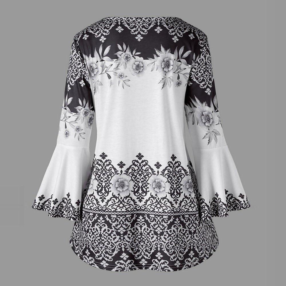 ❤️Camisas Mujer Tallas Grande,Modaworld Moda Blusas de ...