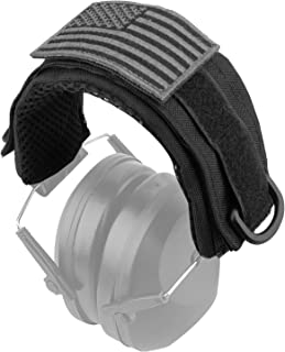 AMYIPO Tactical Headband Protection Advanced Modular Headset Cover Fit for General Earmuffs Accessories