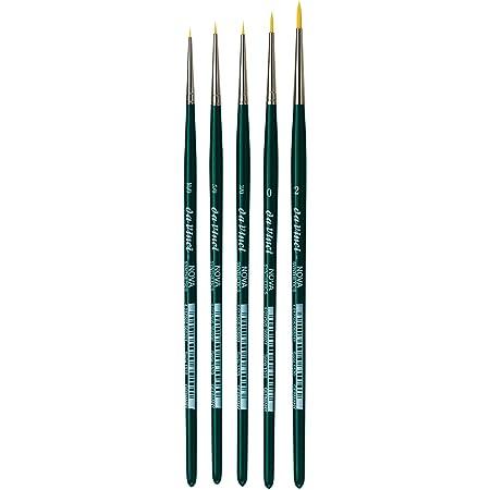 Round Synthetic 1570-5//0 Size 5//0 da Vinci Nova Series Watercolor Brush