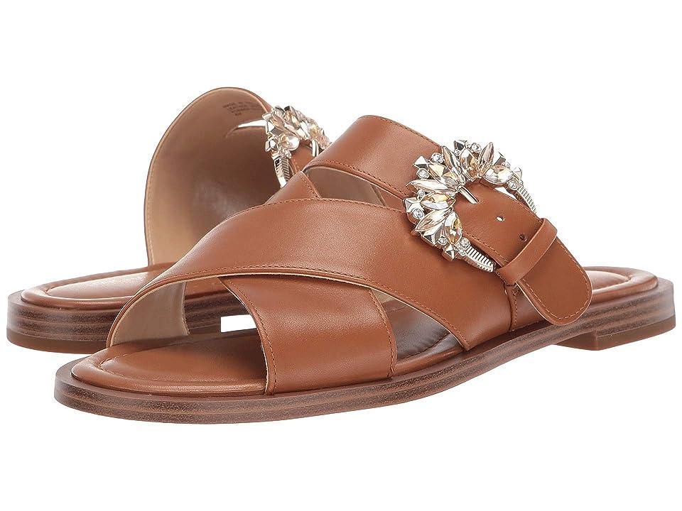 MICHAEL Michael Kors Frieda Slide (Acorn) Women's Sandals