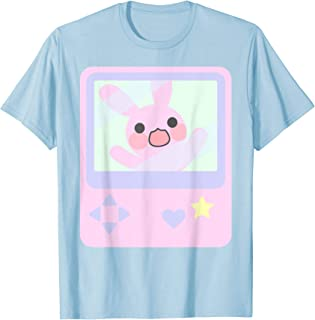 Kawaii Gamer Bunny Rabbit Pastel Shirt