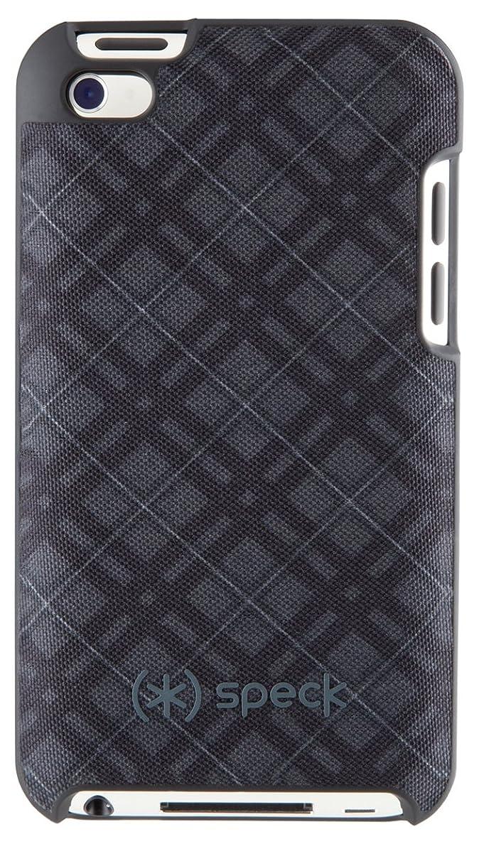 ファンネルウェブスパイダー省略習慣SPECK iPod Touch 4 Fitted - Darkest TartanPlaid SPK-A0142