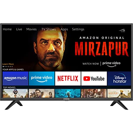 Onida 108 cm (43 Inches) Fire TV Edition Full HD Smart IPS LED TV 43FIF (Black) (2020 Model)
