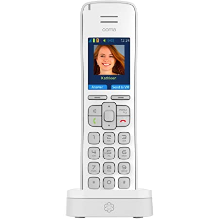 Ooma HD3 Handset – White. Works with Ooma Telo.