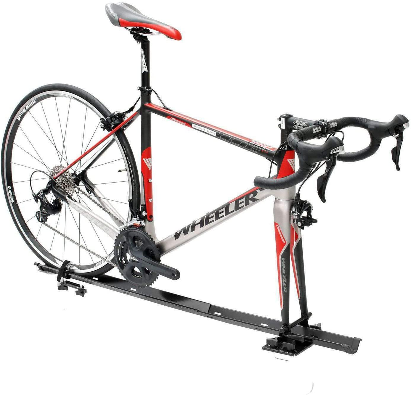CyclingDeal Steel Car Roof Bike Rack (人気激安) for 本日限定 Carrier 1 Bicycle