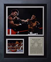Legends Never Die Muhammad Ali - Rumble in The Jungle - Framed 12
