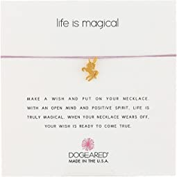 Dogeared - Life Is Magical Unicorn Make A Wish Necklace