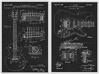 les paul patent poster