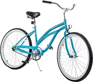 Murtisol Cruiser Bike 26'' Beach Bike Cruiser Bicycle City Bike Road Bike w/Single Speed,Steel Frame,Adjustable Seat,Pedal-Backwards Brake in 3 Colors
