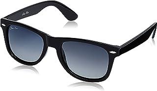 LOUIS SMIT Polarized Wayfarer Men's Sunglasses - (LS108 C4 55|55|Grey Gradel Color Lens)