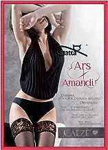Gatta Amandi 01 – besonders elegante matt-transparente halterlose Strümpfe mit verführerischem Abschluss - Dessous