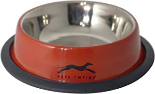 Pets Empire Stainless Steel Color Pet Bowl 200 Ml ( Color May Vary )