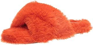 Nine West Women's Cozy Slipper, Red613, 7
