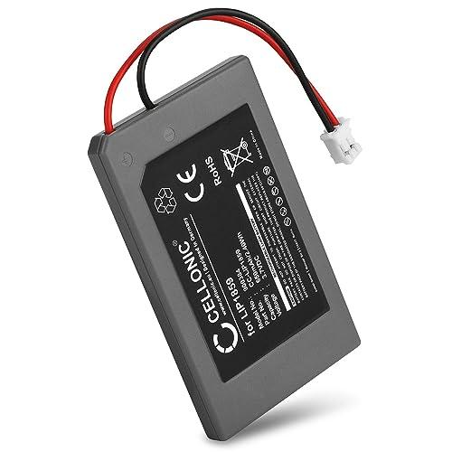 subtel® Batteria premium per Sony PlayStation 3 SIXAXIS Controller (PS3 SIXAXIS Controller CECHZC1E) (650mAh) LIP1859 Batteria di ricambio, accu sostituzione, sostituto