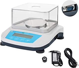 U.S. Solid 0.001g 1mg Digital Analytical Balance Precision Scale for Laboratories (100x1mg) 110-220 VAC, w/ RS232 Interface, Dust Protective Cover, Calibration Weight