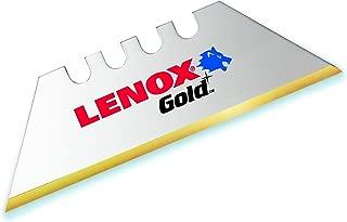 LENOX Gold 20350-GOLD5C Titanium Edge Utility Knife Blade - 5 Pack