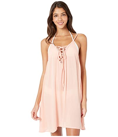 Roxy Softly Love Solid Dress Cover-Up (Souffle) Women