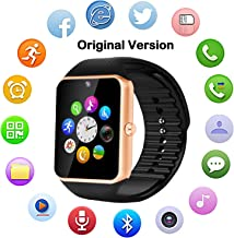 Bluetooth Smart Watch GT08 for Android/iPhone Smart Phones (GT08-Golden)