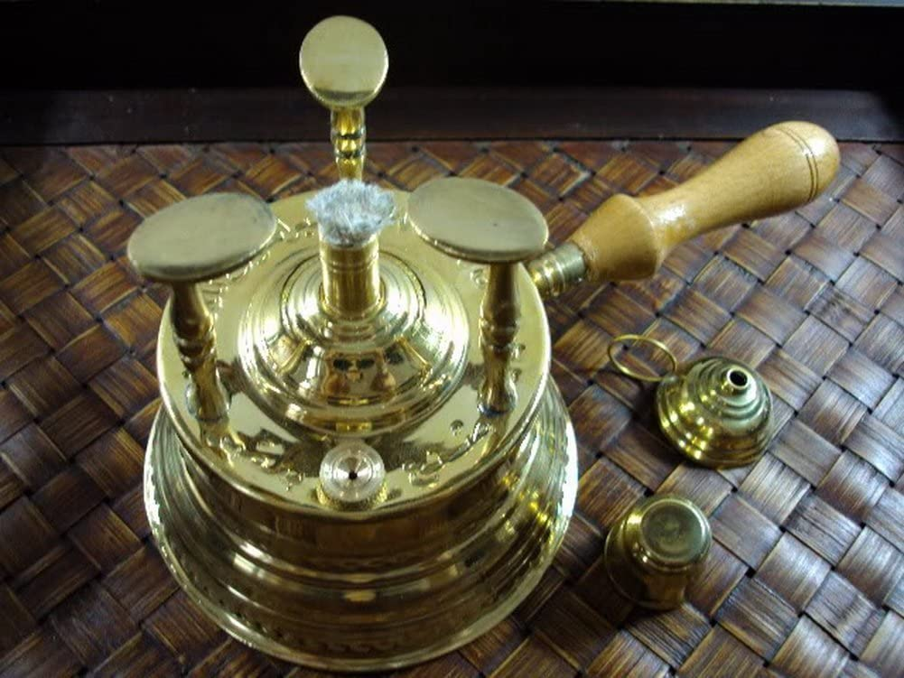 Brass Turkish Coffee Maker Table Max Limited price sale 82% OFF Burner Lrg Alcohol Top