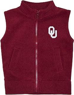 Creative Knitwear University of Oklahoma Sooners Baby and Toddler Polar Fleece Vest