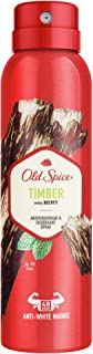 Old Spice Timber Antiperspirant And Deodorant Spray For Men, 150 ml