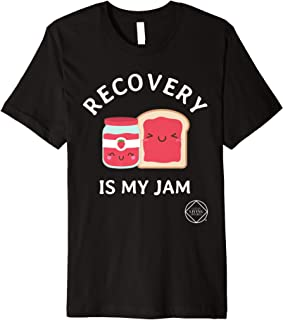 Recovery Is My Jam Narcotics Anonymous NA AA Gifts T Shirt