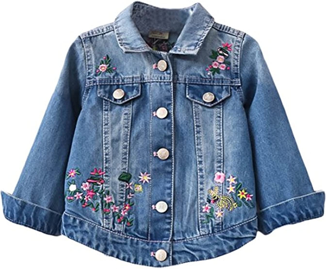 Embroidered Denim Jacket.