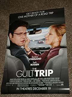 Super Posters Guilt Trip 11x17 INCH Promo Movie Poster