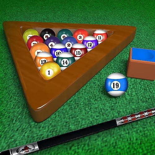 Billard Billardtisch unbegrenzte 8-Ball-Turnier: Einen schwarzen Kugel - Gratis-Edition