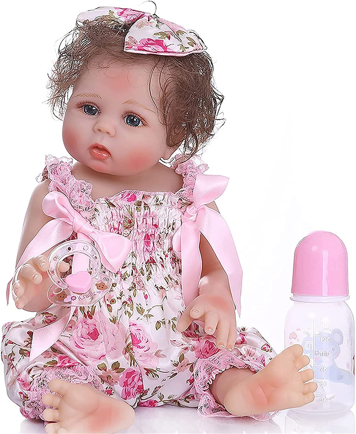 Reborn Baby Doll with Blue Eyes Long-awaited Babies Dolls Super Special SALE held Life Realistic Girl