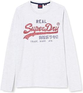 Superdry VL Premium Goods LS Camisa Manga Larga para Hombre