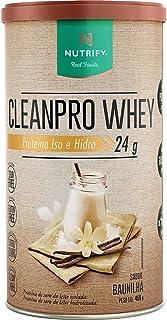 Cleanpro Whey (450G) - Sabor Baunilha, Nutrify