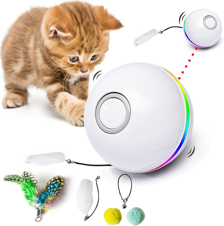 pelotas juguete interactivo para gatos automático