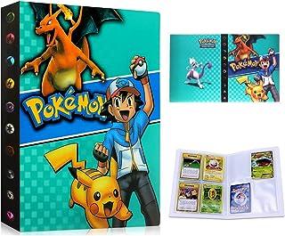 Pokemon-kaartenhouder, album map, boek, Pokemon verzamelalbum, Pokemon-kaarten album, 30 pagina's 240 kaarten capaciteit (...