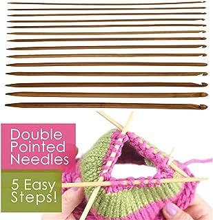 ZALING 14 Pcs/Ensemble Outils De Tissage En Bambou Aiguilles De Chandail Bambou Crochet C Crochets Tricot Artisanat Aiguil...
