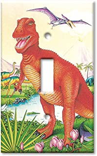 Art Plates - Dinosaurs Switch Plate - Single Toggle