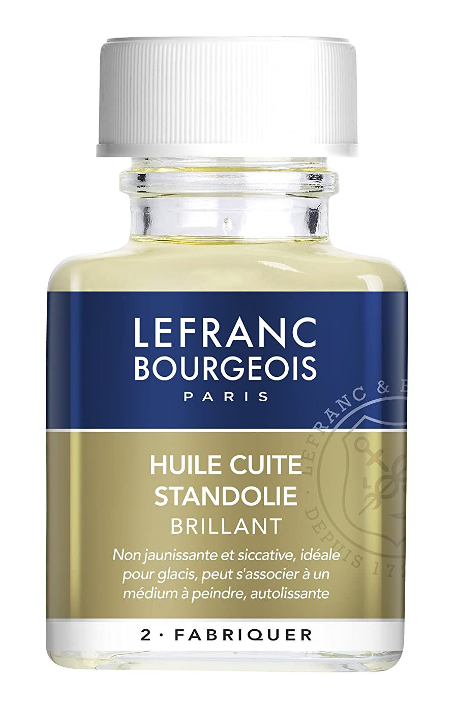 Lefranc Bourgeois Transparent 300201?Solvents Oils for Oil Painting Oil Paint Additive for, 4.1?x 6.0?x 9.9?cm